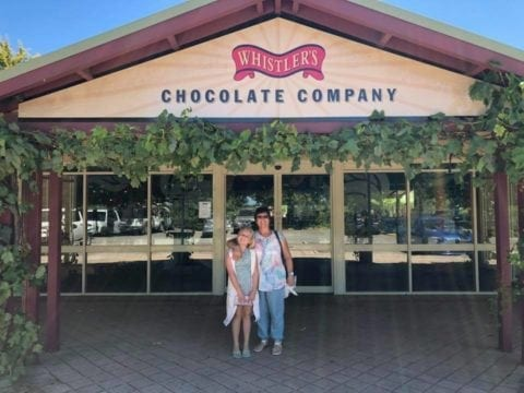 Whistlers Chocolate Co Swan Valley