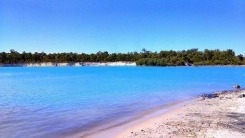 Stockton Lake, Collie