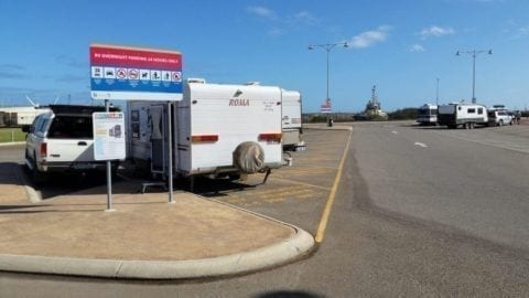 Geraldton 24 Hour Free RV Camp