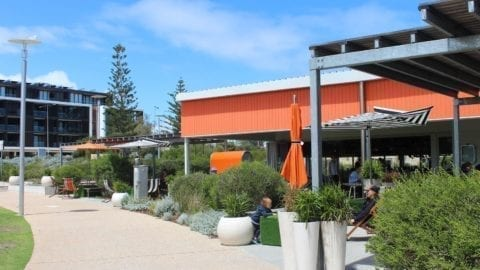 The Orange Box, Leighton Beach