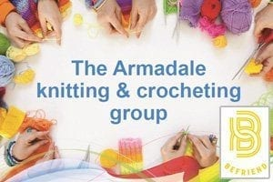 The Armadale knitting and crocheting group