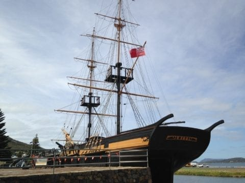 The Brig Amity Replica, Albany