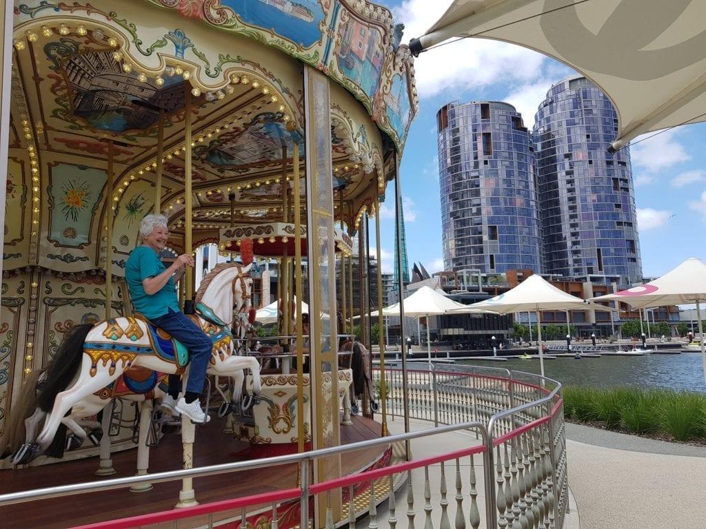 Elizabeth Quay Carousel, Perth