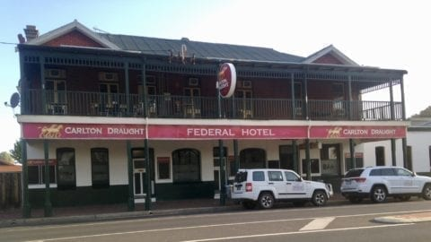 The Federal Hotel, Collie