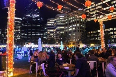 Night Noodle Markets, Elizabeth Quay