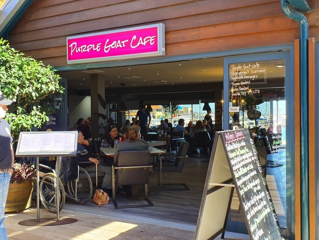 Purple Goat Cafe, Hillarys