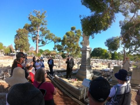 Fremantle Cemetery Heritage Walk Trail One