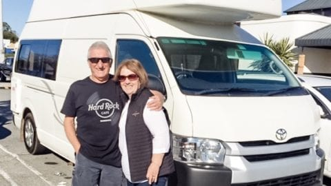 Hiring a Camper Van