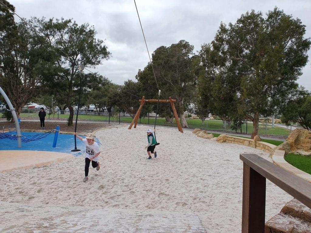 Senior Park at Jo Wheatly All Abilities Play Space, Dalkeith