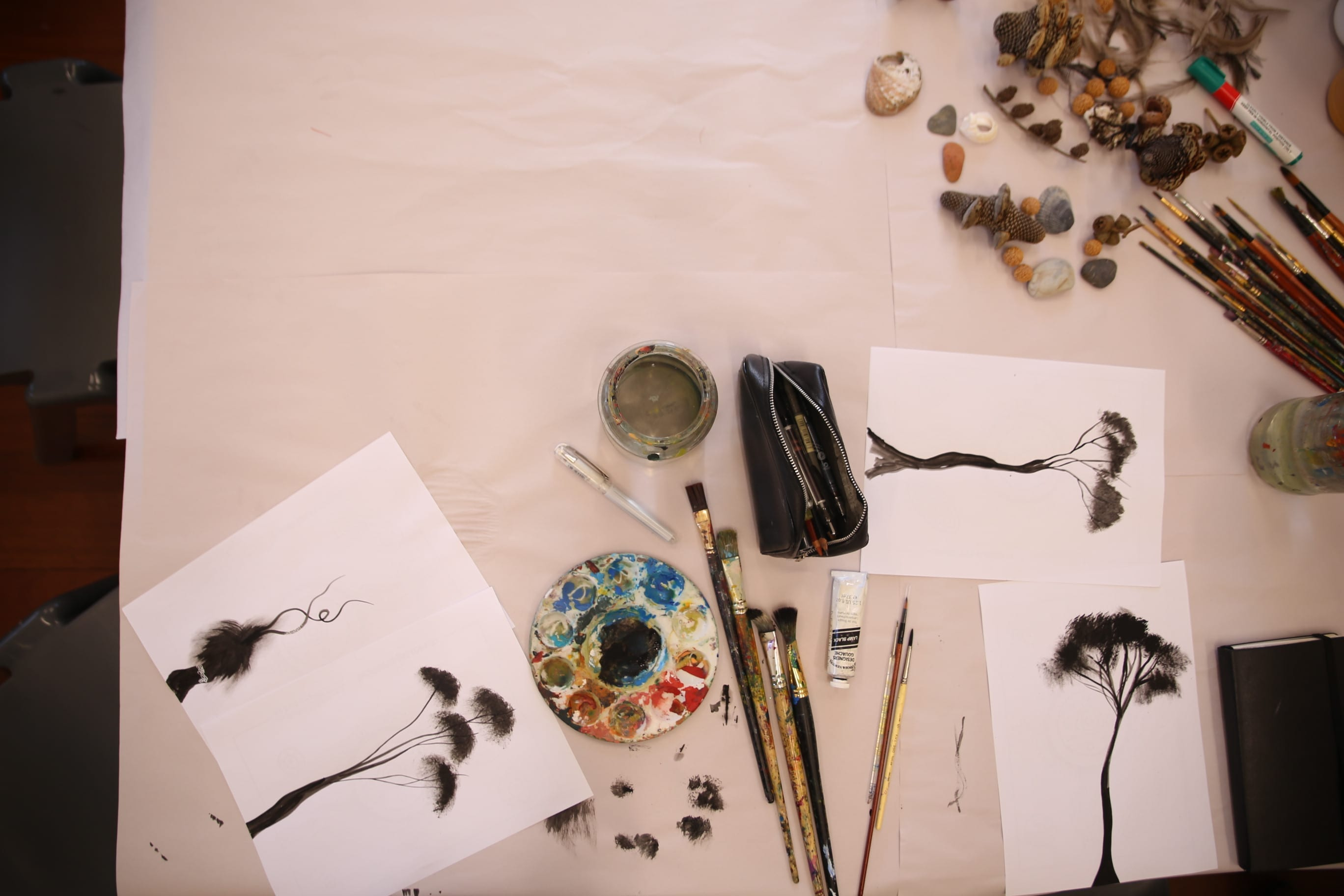 Come and Try for Over 55s Nature Art Workshop