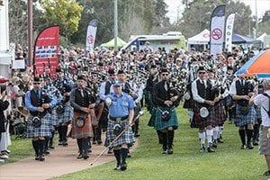 Armadale Highland Gathering and the Perth Kilt Run