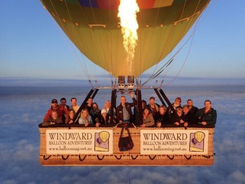 Windward Ballooning Adventures, Northam