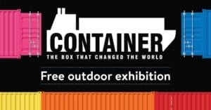 Container Free outdoor exhibition