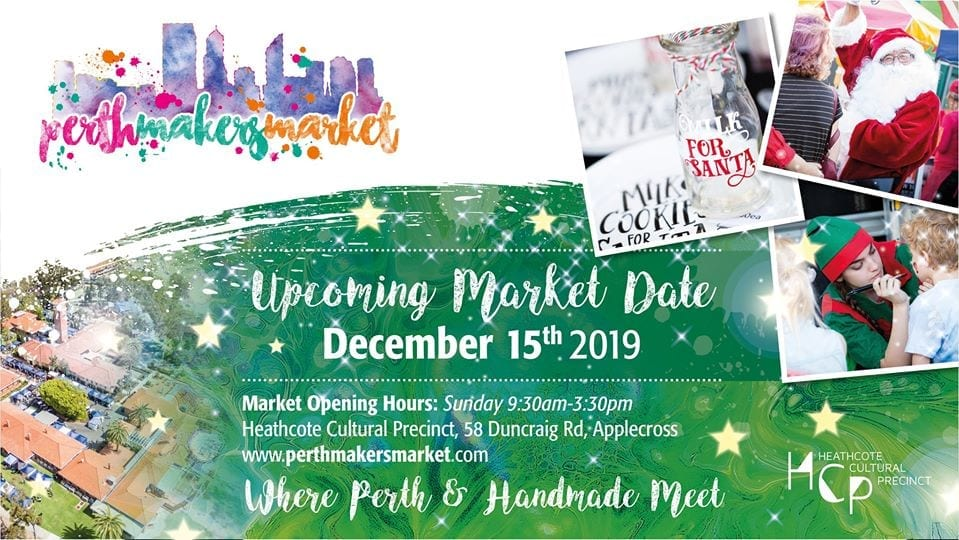 2019 Perth Makers Market - Applecross - Christmas!